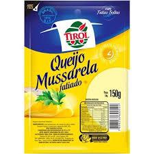 QUEIJO MUSSARELA TIROL 150g
